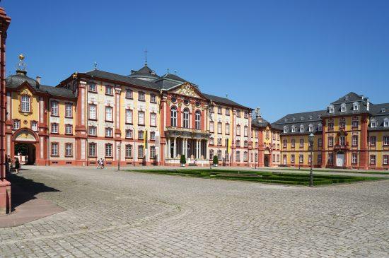 Bruchsal Schloss Ehrenhof