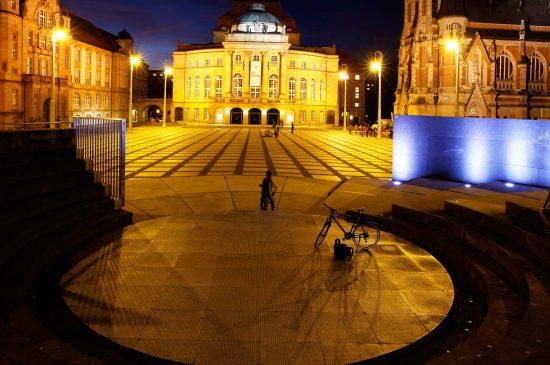 Chemnitz Theaterplatz