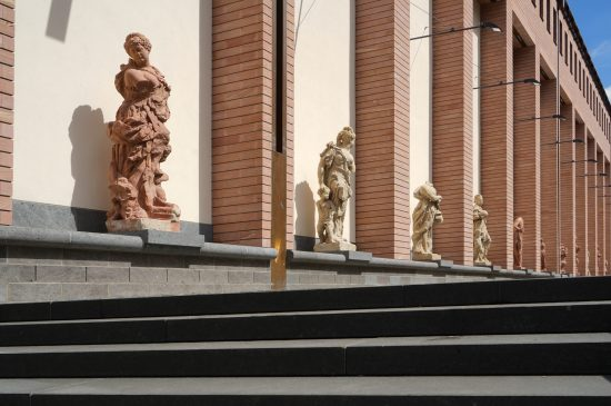 Frankfurt Historische Museum Neubau Fassade