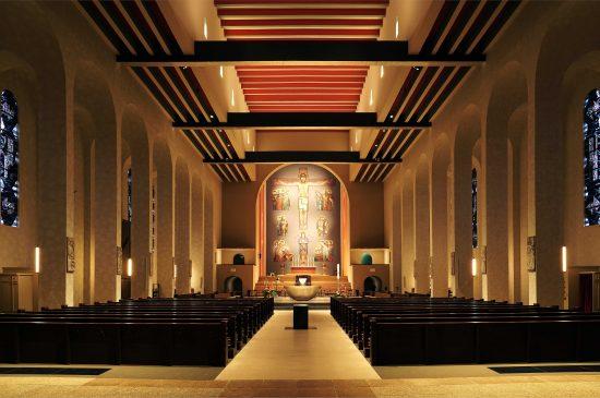 Frauenfriedenskirche totale innen